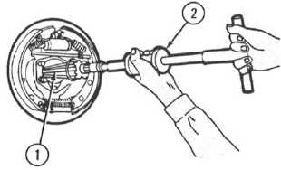 Using a Slide Hammer Puller Set