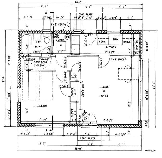 Figure 4-3.Floor plan.