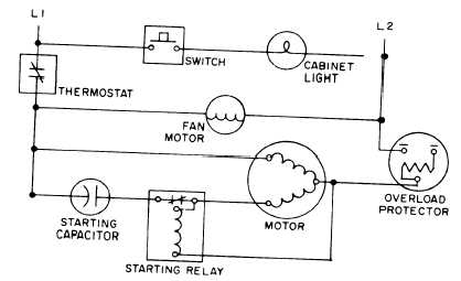 Figure 14 43 Typical Hermetic System Schematic Wiring Diagram