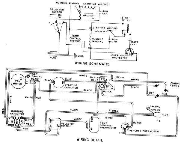 Figure 14-43.Typical hermetic system schematic wiring diagram.