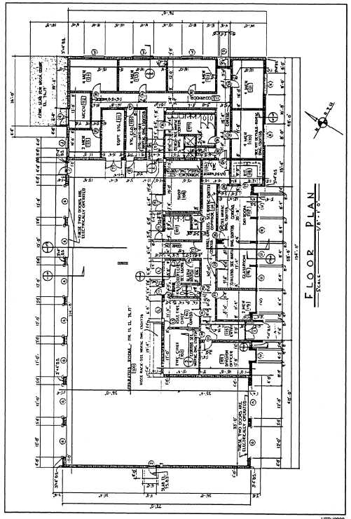 Figure 1-2. Architectural or floor plan of concrete