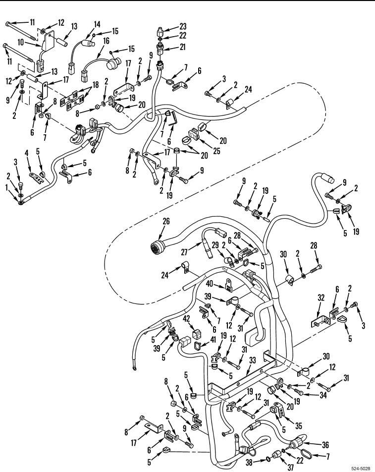Figure 30. Engine Interface Wiring Harness.