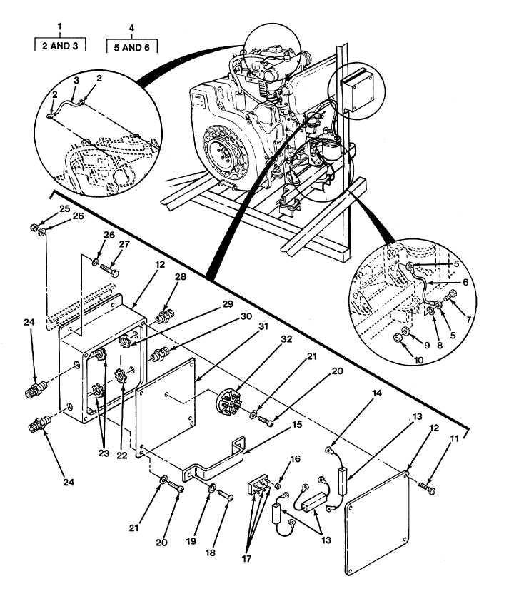 Figure 34. Junction Box and Jumper Wire Assemblies