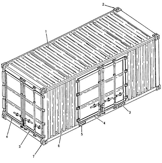Figure 1-1. General Cargo Container
