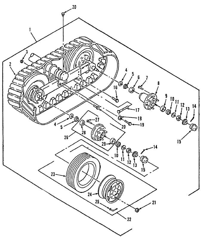 Figure 5. Undercarriage Group