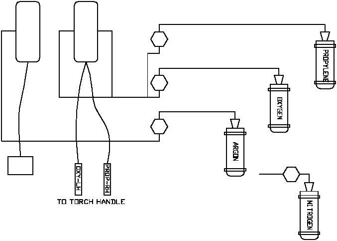 Figure 2-9. ARC Welder Diagram.