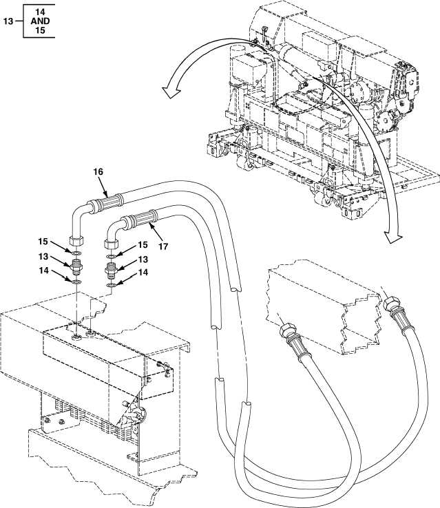 FIG. 54 HYDRAULIC TELESCOPIC LINES (2 OF 2)