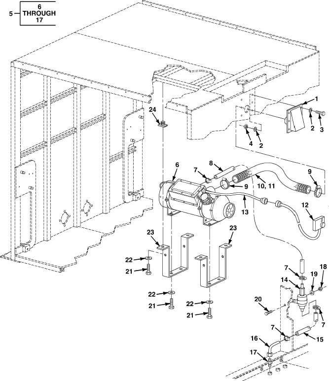 FIG. 65 HEATER ASSEMBLY AND VENT