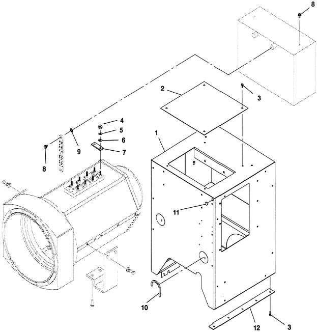 FIG. 79 GENERATOR SET CONTROL HOUSING