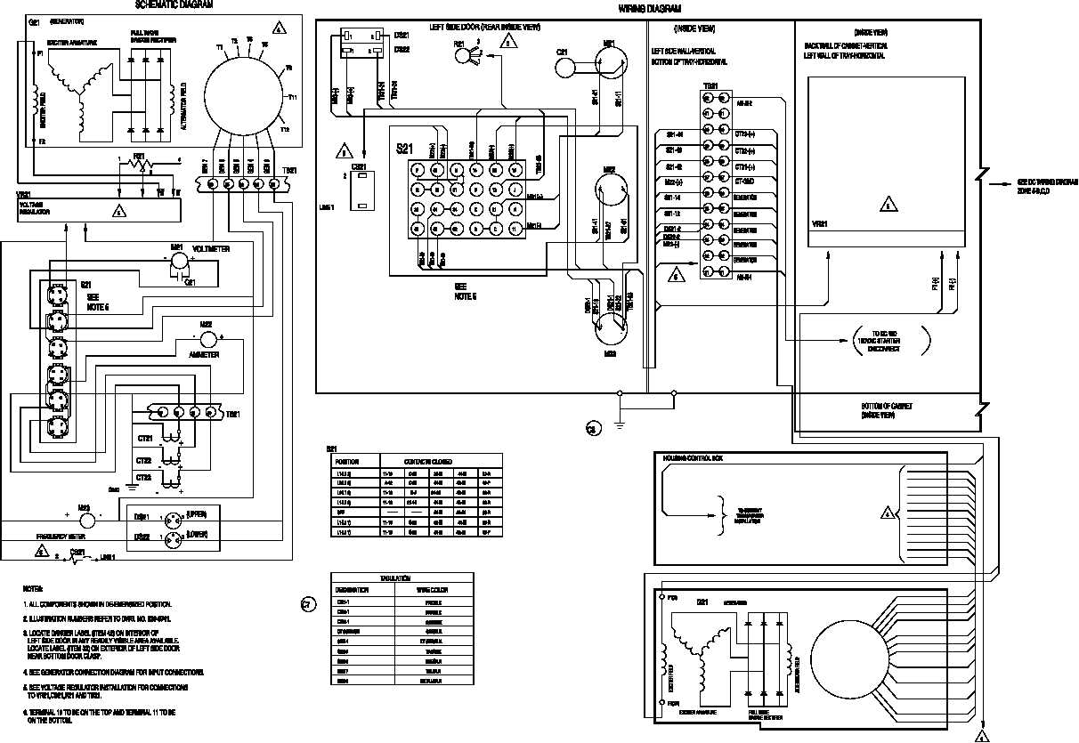 FIGURE FO-1. ELECTRICAL SYSTEM SCHEMATIC FOLDOUT 1 OF 19