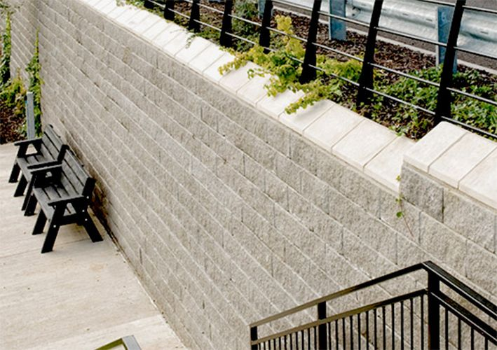 Retaining Walls Made Easy With AG's Anchor Vertica Machine Installation