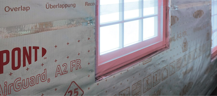 A complete membrane offering for fire safety in the building envelope
