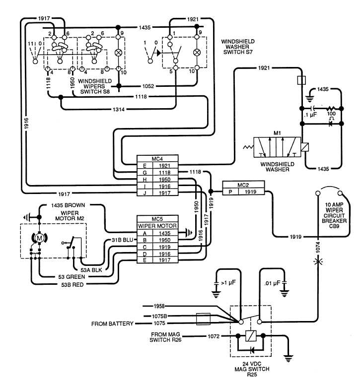 Wiper Motor Wiring Schematic Hope This Helps Resolve Your