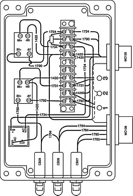 Figure 2-75. Interface Power Box Wiring Diagram