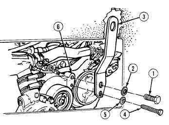Engine lifting bracket