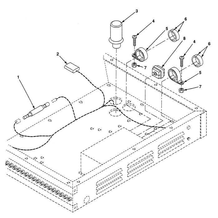 FIG. 124 ELECTRONIC CONTROL ASSEMBLY DIODE ASSEMBLY, 6.8K