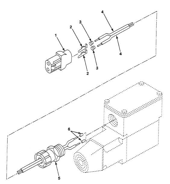 FIG. 154 FAN CONTROL SOLENOID VALVE WIRING HARNESS