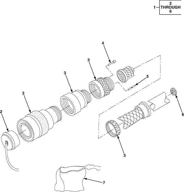 FIG. 414 REMOTE CONTROL BOX CABLE ASSEMBLY