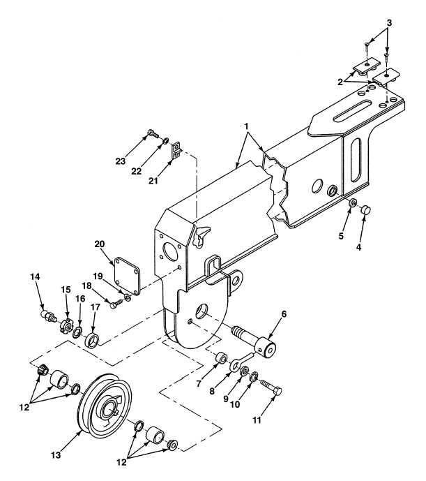 FIG. 366 CRANE BOOM ASSEMBLY FLY SECTION