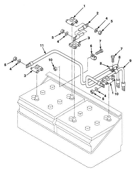 FIG. 489 ENGINE ARCTIC KIT BATTERY BOX CABLES