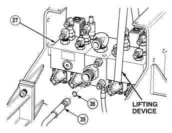 Four valve bank weight