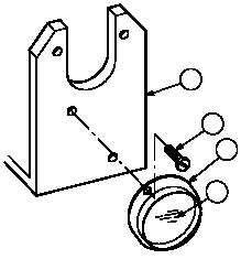 Install transit lock switch wire harness