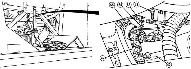 Remove engine wire harness