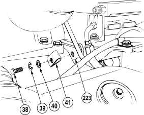 Left injector wire harness