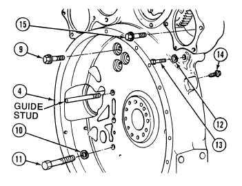 Flywheel housing weight