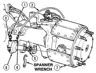 Install air brake chamber