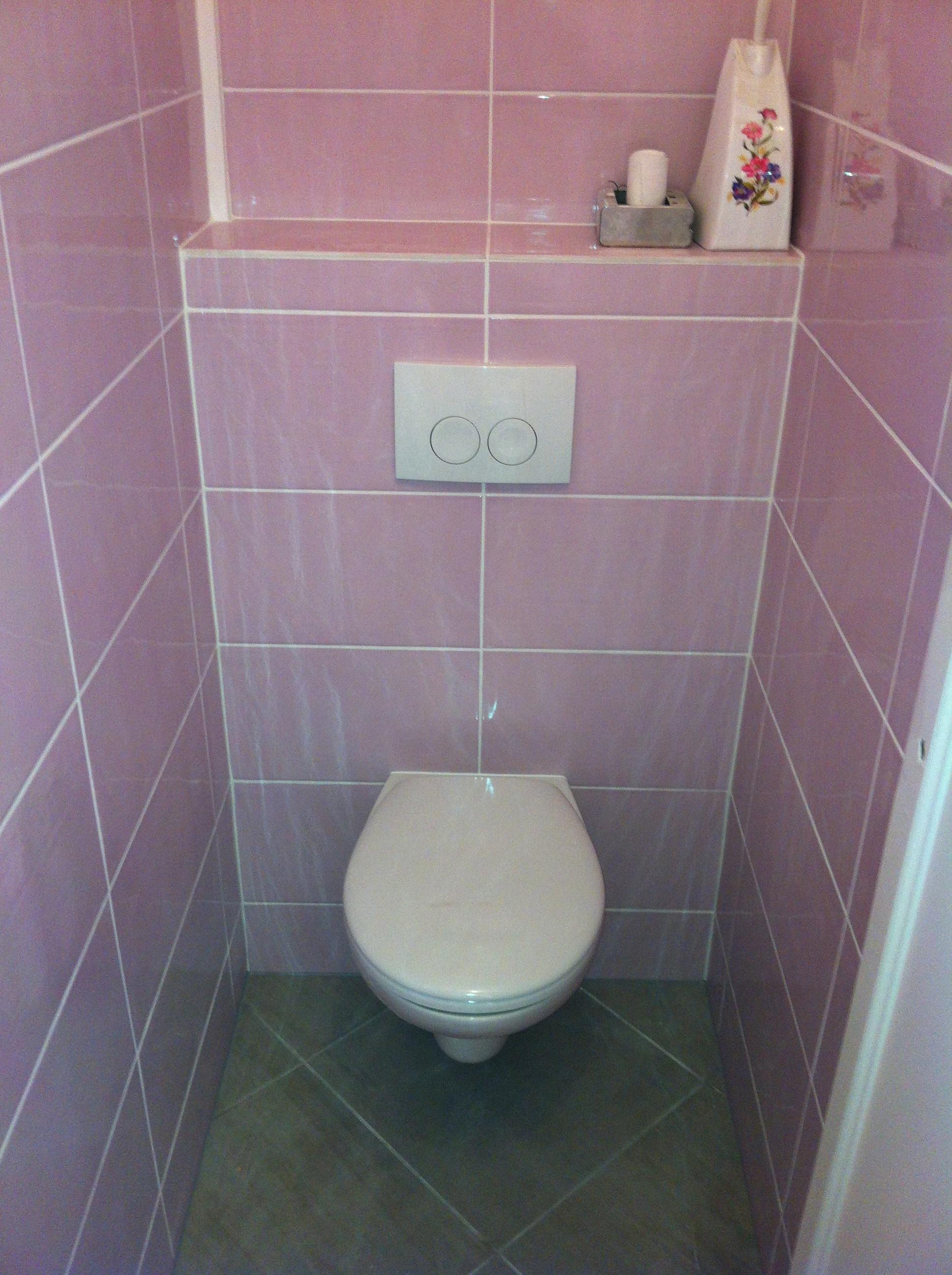 pose de wc  Dream House