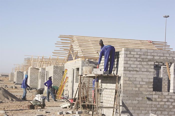 Windhoek mass housing project in Namibia to be completed