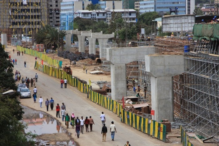 Light Rail Construction - Ethiopia Construction Sector to grow driven by infrastructure investments