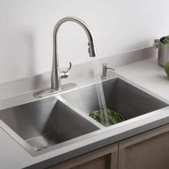 Single Sink Kitchen Framed Art Advantages Disadvantages Of Vs Double Basin Sinks