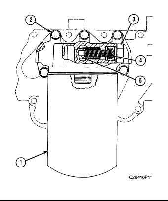 Engine Oil Filter, Engine Oil Filter Base & Engine Oil Cooler