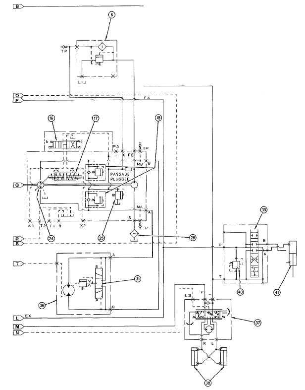 Figure C-2. Hydraulic Schematic (Sheet 4 of 8)