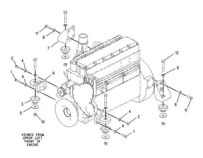BASIC ENGINE 138-7527 MOUNTING GP-ENGINE FLEXIBLE