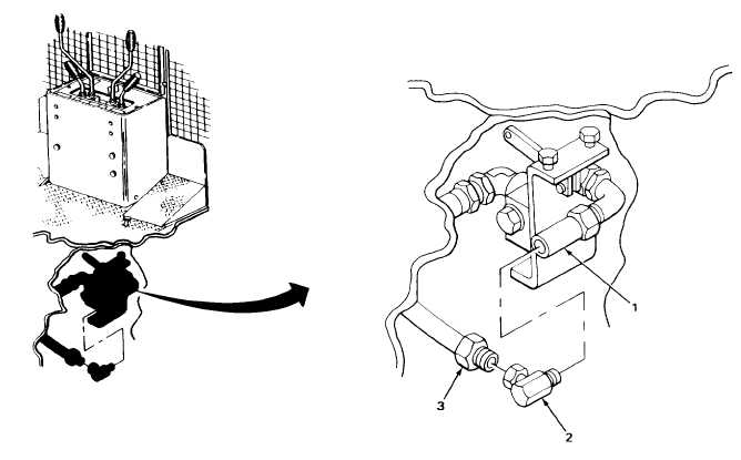 HYDRAULIC IMPACTOR FLOW REGULATOR-TO-BOOM OIL LINE (SERIAL