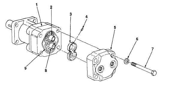 HYDRAULIC EARTH DRILL BORING HEAD MOTOR REPAIR
