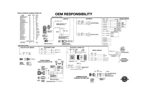 small resolution of detroit series 60 ecm wiring diagram detroit free engine