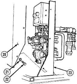 5-40. LOAD HANDLING SYSTEM (LHS) MAIN FRAME CYLINDER
