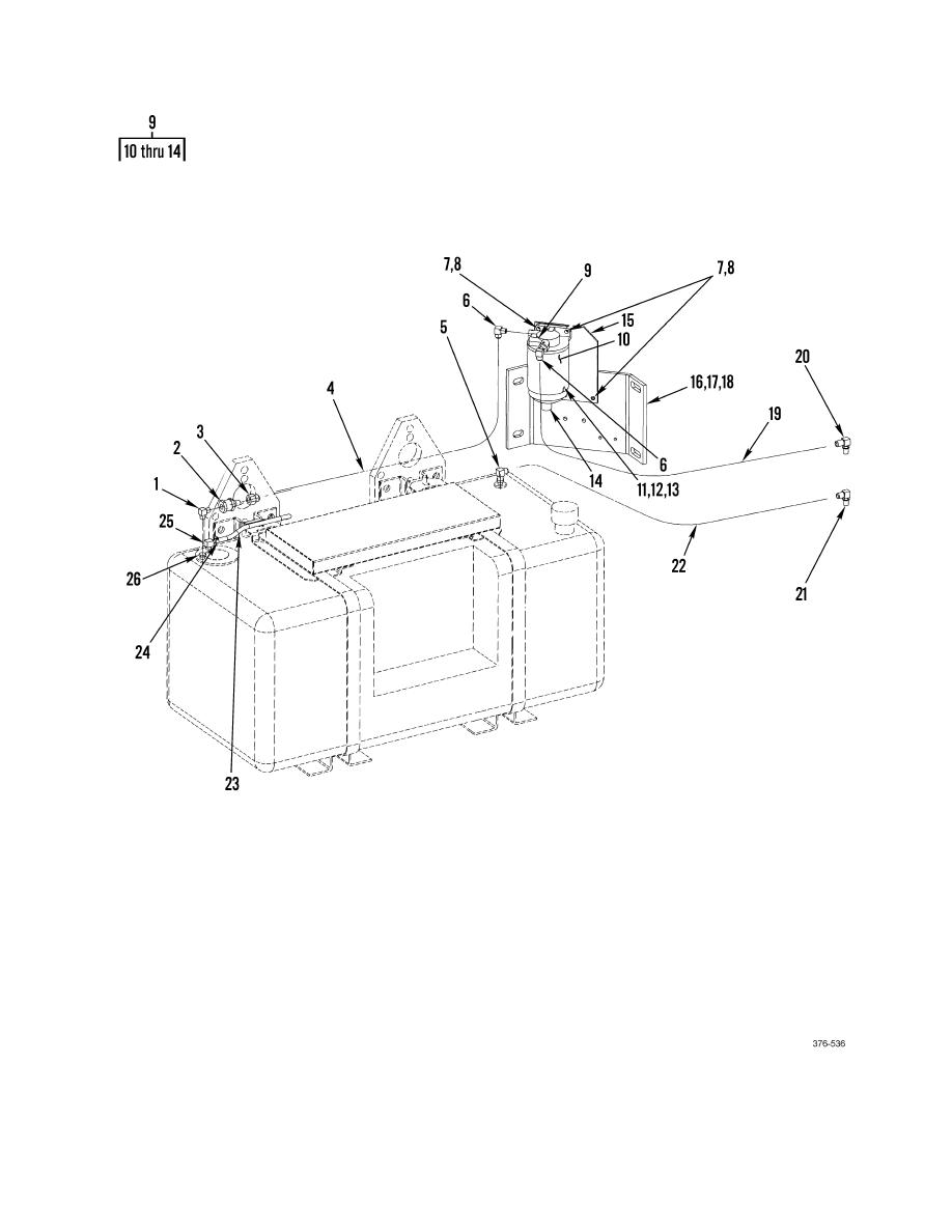 Group 040, Figure 2. Fuel/Water Separator Assembly