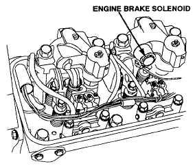 ENGINE BRAKE RETARDER WIRING HARNESS TEST