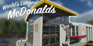 A visit to the world's largest McDonalds restaurant