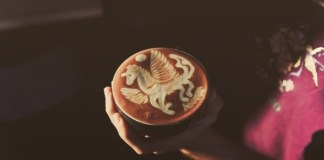 How to conjure up Pegasos Latte Art |  What's going on here anyway
