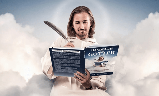 """In response to the """"Handbook for Gods"""" or the real willingness to go into action"""