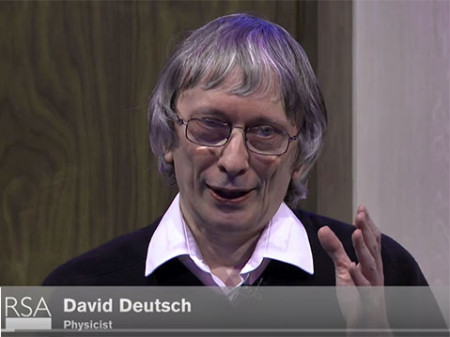 David Deutsch debates with Martin Rees on Optimism