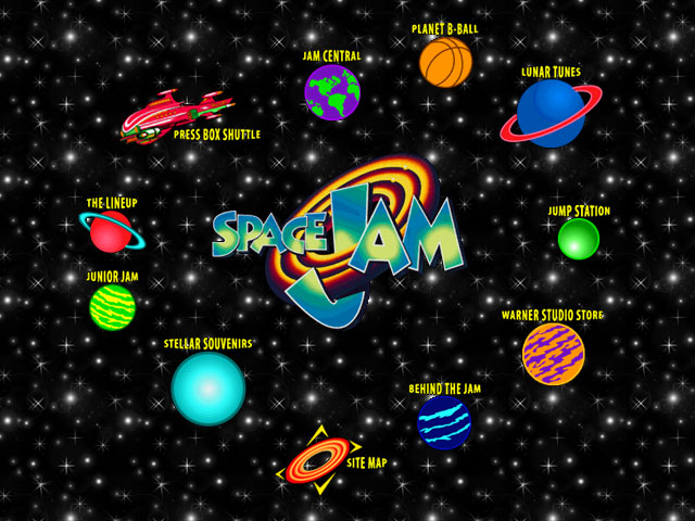 Space Jam, Static Layout