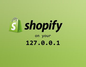 Develop a Shopify Theme on Your Local Machine using Theme Kit
