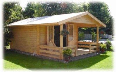 simples casa madeira construdeia projeto